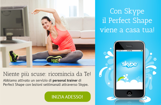 prova il perfect shape via skype